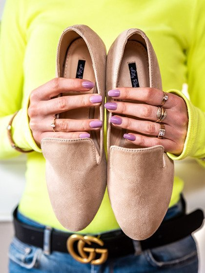 e6a05a10582 Beige classic loafers Vices