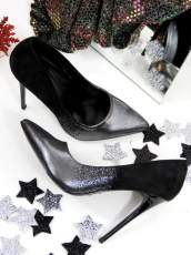 Black Pumps Party High Heels