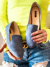 Blue classic loafers Vices